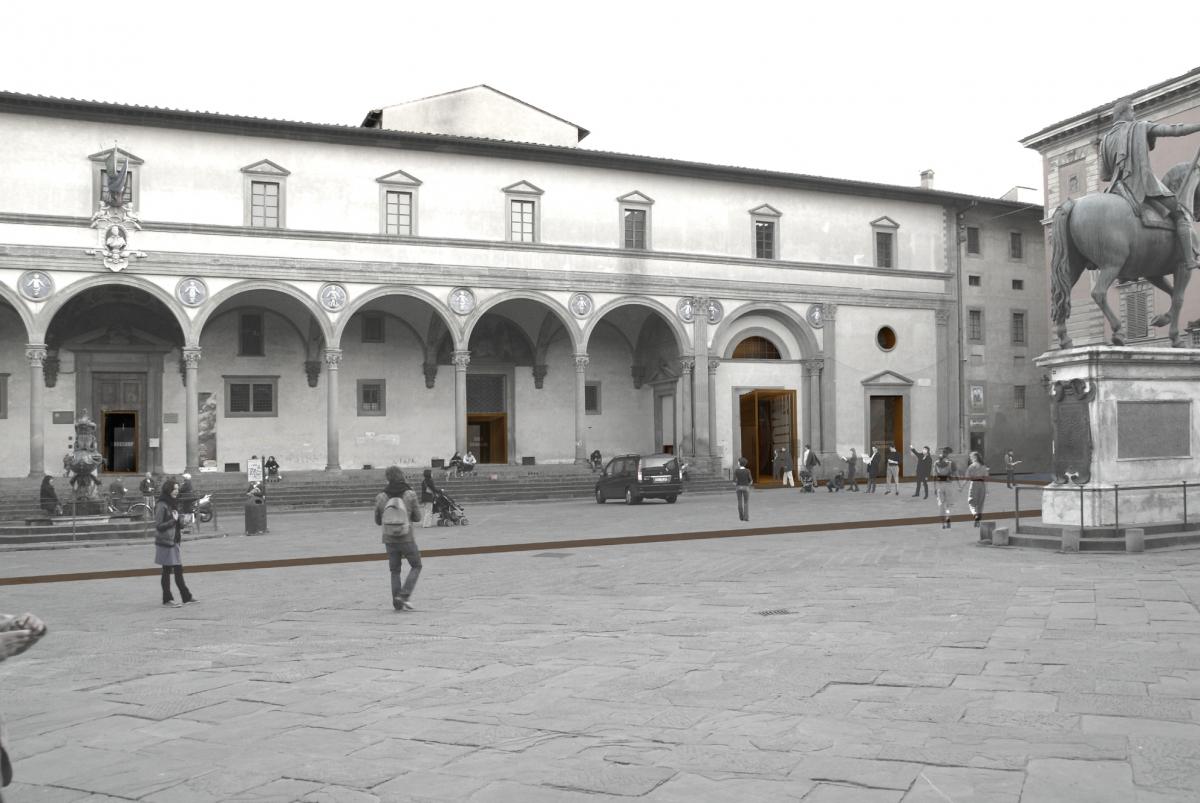 01 Vista da Piazza Santissima Annunziata